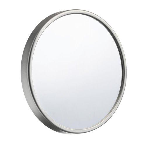Make Up Spiegel Smedbo Outline Lite voorzien van Zuignap ABS/ Spiegelglas Diameter 13 cm Zilver