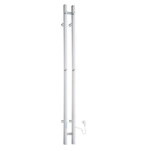 Elektrische Handdoekradiator Smedbo Dry Verticaal 12x150 cm 60W RVS Gepolijst