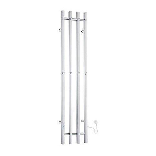 Elektrische Handdoekradiator Smedbo Dry Verticaal 30x150 cm 120W RVS Gepolijst