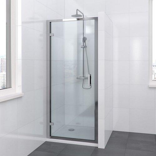Bruynzeel Douchedeur Lector 100 x 200 cm 8 mm Helder Glas Vrijstaand Aluminium