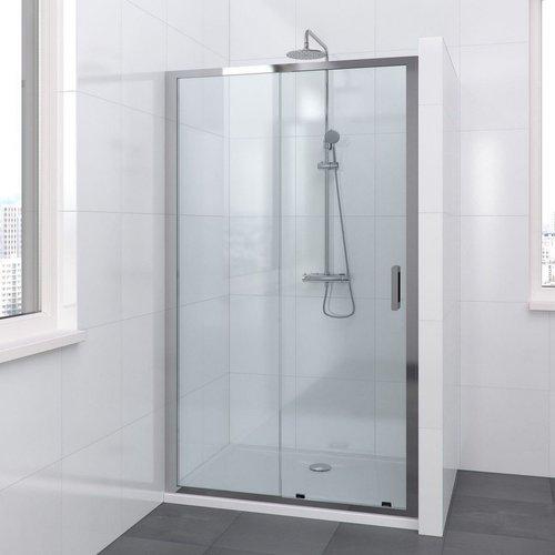 Bruynzeel Schuifdeur Lector 120 x 210 cm 8 mm Helder Glas Aluminium