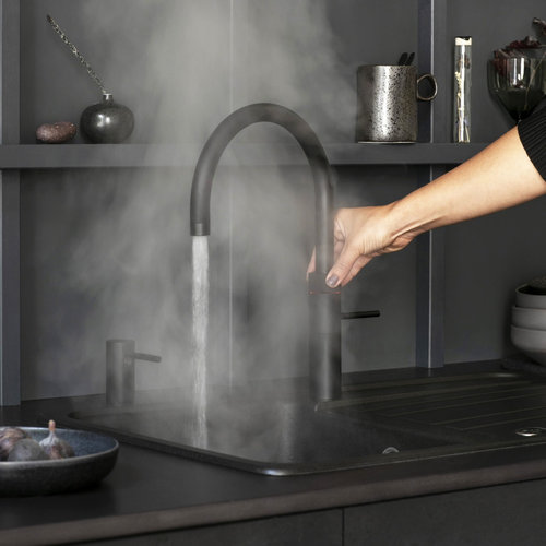 Quooker Fusion Round Keukenmengkraan Zwart