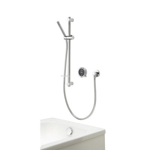 Staafhanddouche Aqualisa Touch Smart Inbouw 70 cm Met Glijstang En Badvuller Chroom