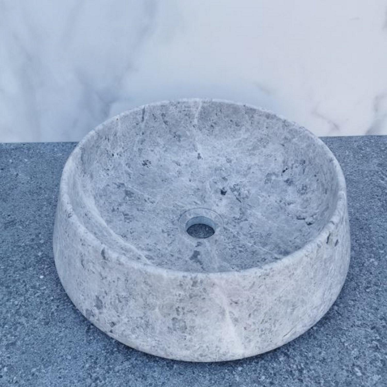 Waskom Sanilux Opzetkom 41x13 cm Grijs Sanilux