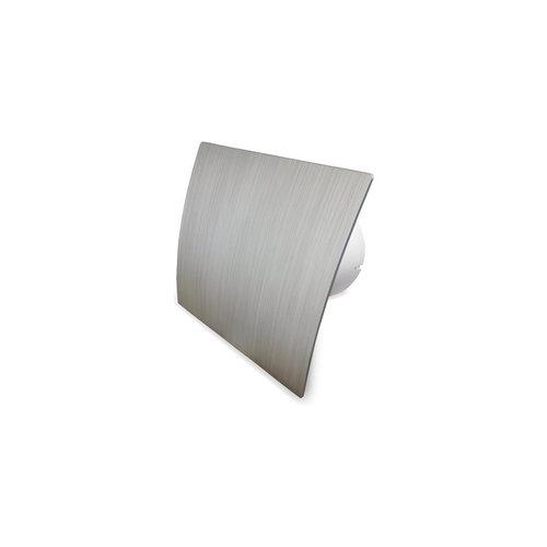 Badkamer Ventilator Pro Design Standaard Trekkoord 125mm 170 m3 Zilver Kunststof