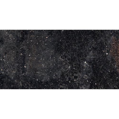 Vloertegel Cerriva Unique Blue Noble Mat Lapatto  40x80 cm Antracite (prijs per m2)