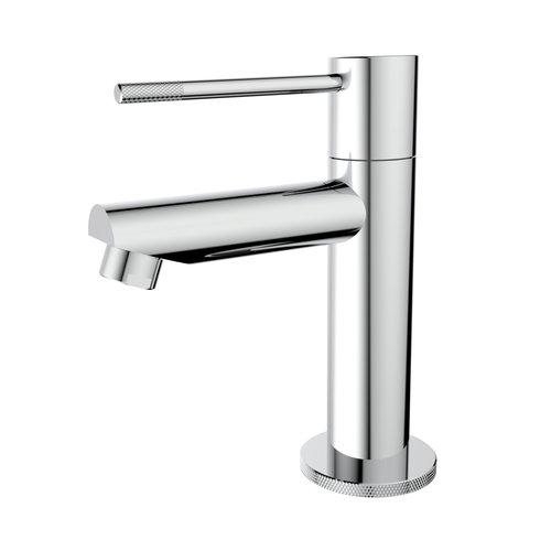 Toiletkraan Best Design Chroom-Ribera Uitloop Recht 14 cm 1-hendel Chroom