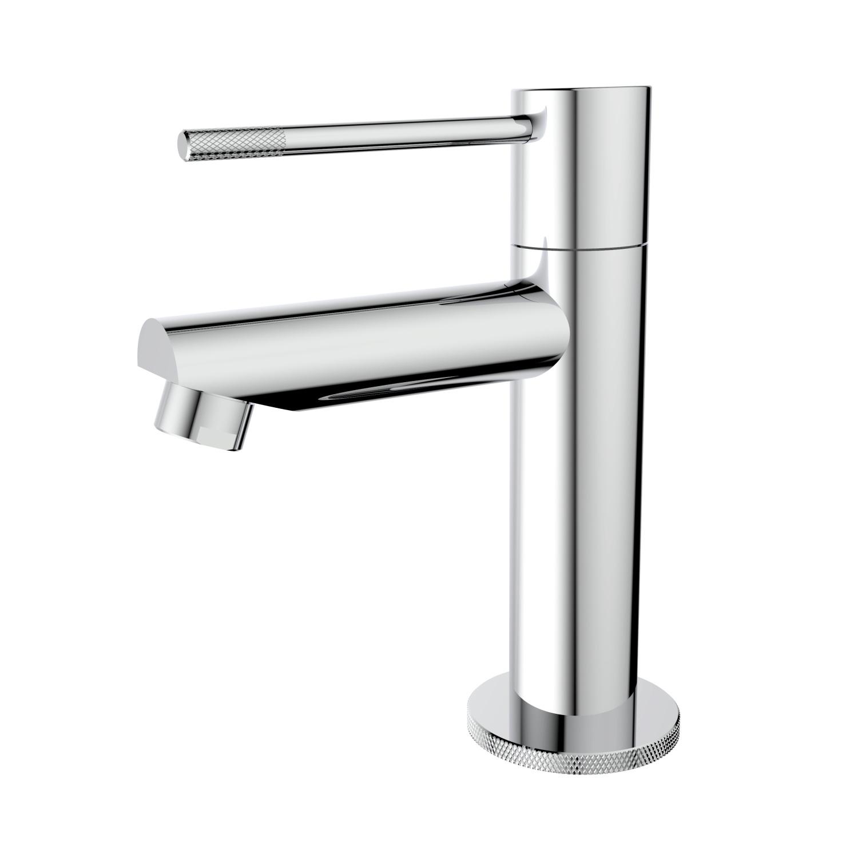 Toiletkraan Best Design Chroom-Ribera Uitloop Recht 14 cm 1-hendel Chroom ADW Design
