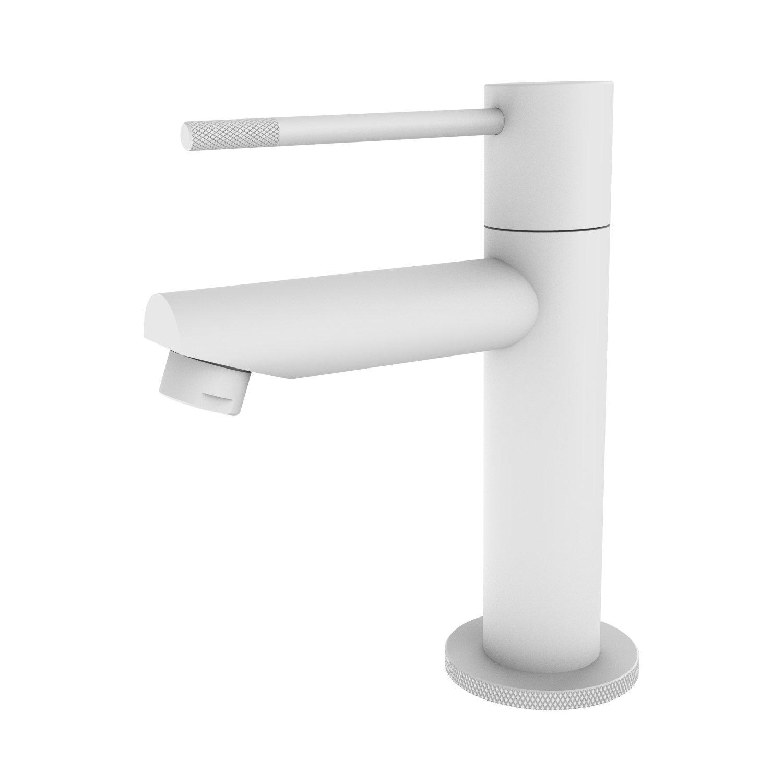 Toiletkraan Best Design White-Ribera Uitloop Recht 14 cm 1-hendel Mat Wit ADW Design