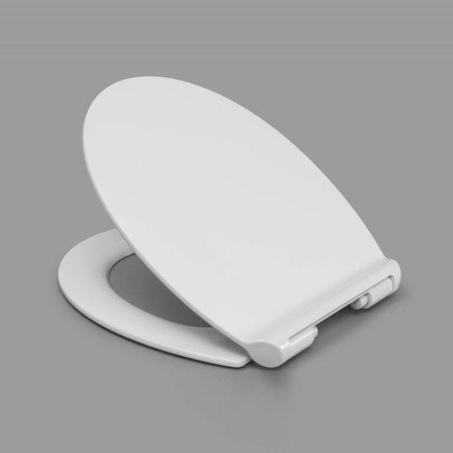 Sanimar Toiletzitting Slim Duroplast Softclose En Take Off Systeem Wit