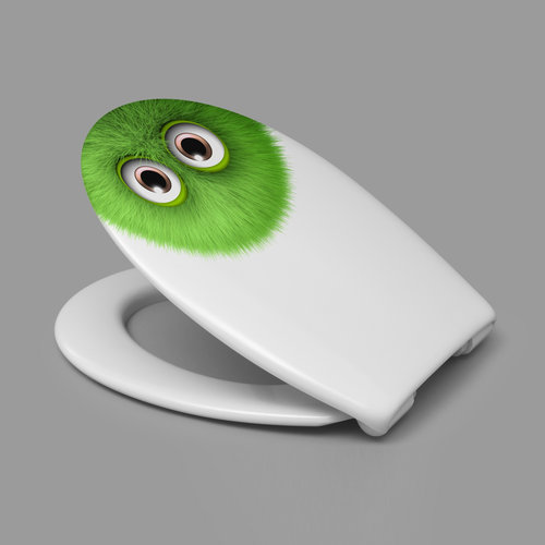 Sanimar Toiletzitting Carolina Beach Duroplast Softclose En Take Off Systeem Monster Design