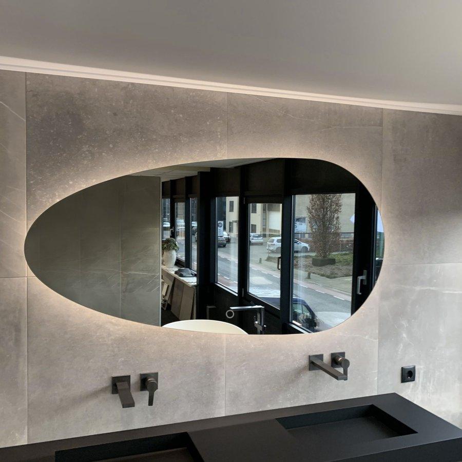 Badkamerspiegel Xenz Stone 86cm met Verlichting