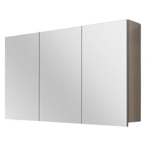 Spiegelkast Differnz Style 100x60cm Grijs Eiken