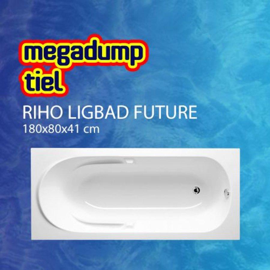 Ligbad Future 180X80X41 Cm Wit
