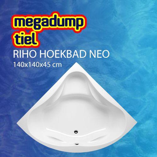 Hoekbad Neo 140X140X45 Cm Wit