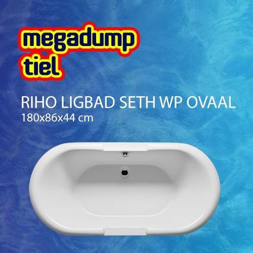 Ligbad Seth Wp Ovaal 180X86X44 Cm Wit