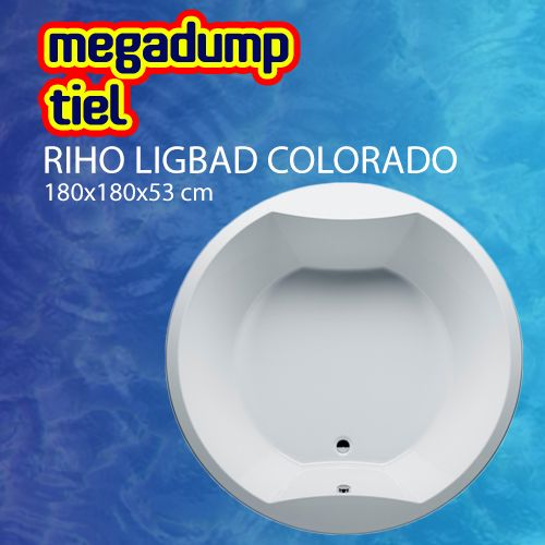 Ligbad Colorado Rond 180 Cm Wit