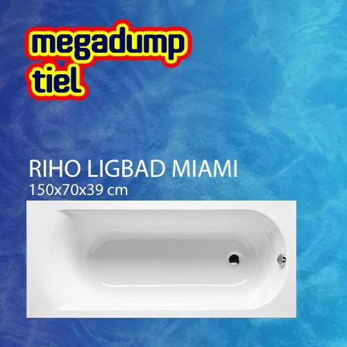 Ligbad Miami 150X70X39 Cm Wit