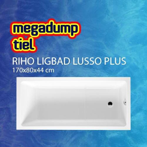 Ligbad Lusso Plus 170X80X44 Cm Wit