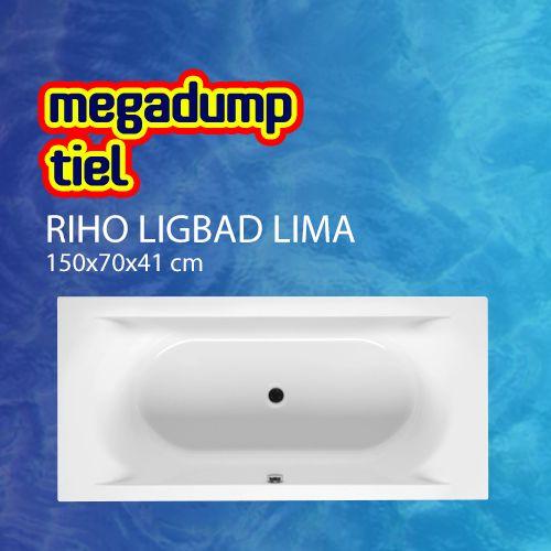 Ligbad Lima 150X70X41 Cm Wit