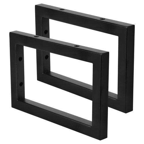 Ophangbeugel Differnz 2x23x15 cm Zwart (per stuk)