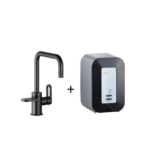 Kokendwaterkraan HotSpot Adrianna Mat Zwart Inclusief 4 Liter Boiler