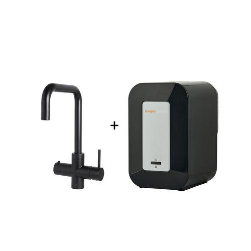 Kokendwaterkraan HotSpot Vitoria Mat Zwart Inclusief 4 Liter Boiler