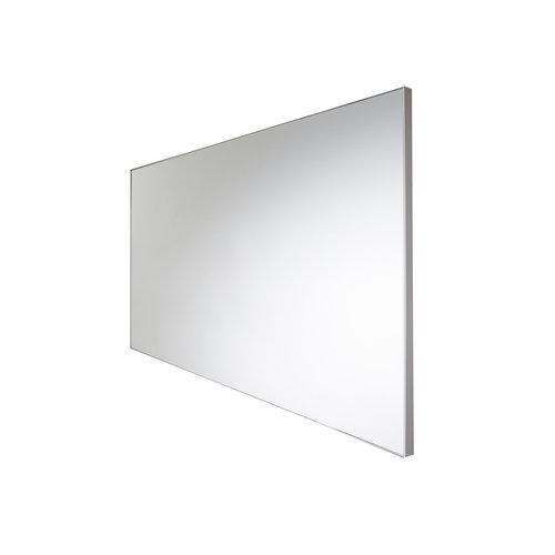 Wandspiegel Van Marcke Frame Zonder Verlichting 40x70 cm Glas En Wit Aluminium Kader