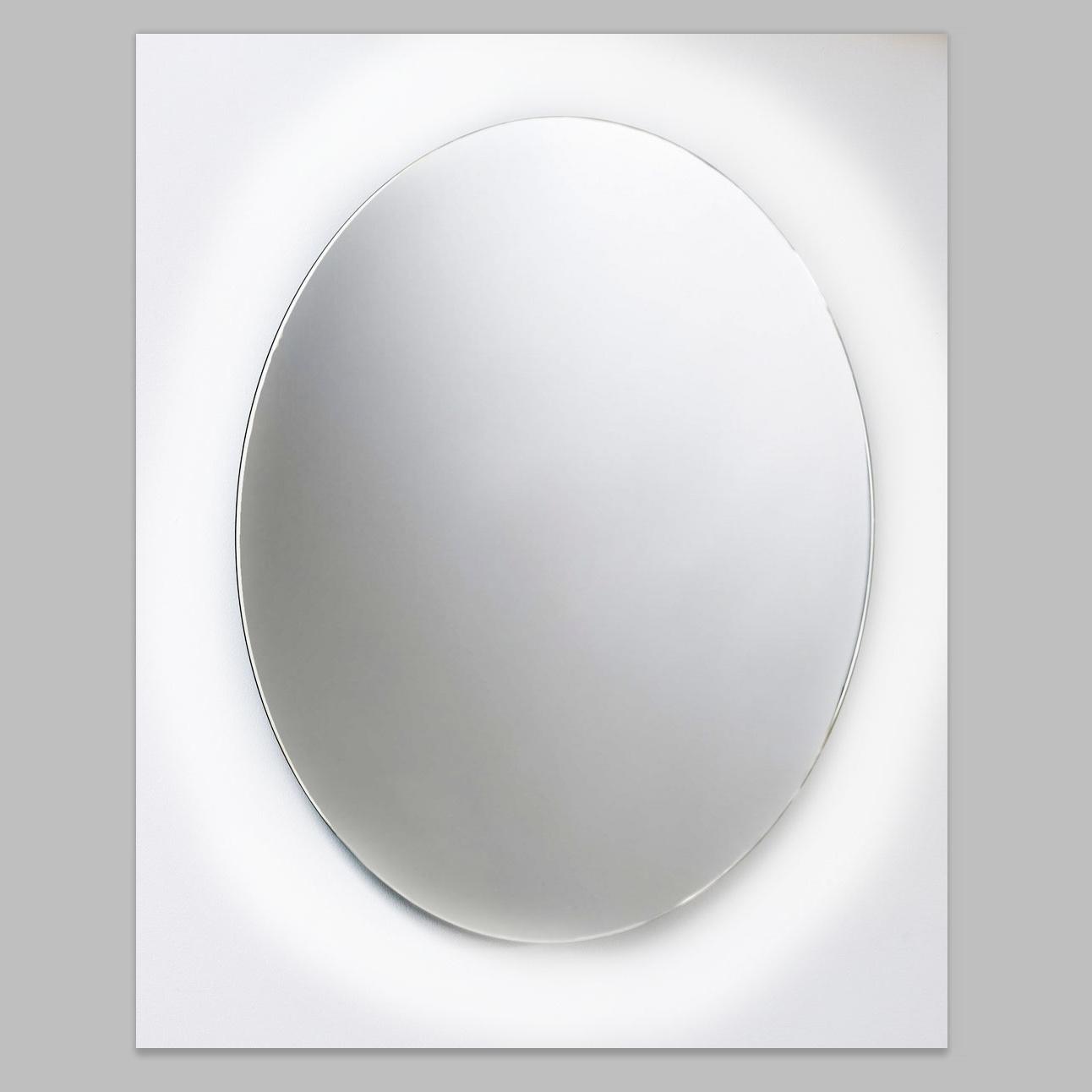 Ronde Wandspiegel Van Marcke Hula Met Indirecte LED Verlichting, Sensor En Anti-Damp 60x60 cm Glas V