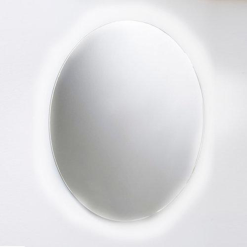 Ronde Wandspiegel Van Marcke Hula Met Indirecte LED Verlichting, Sensor En Anti-Damp 120x120 cm Glas