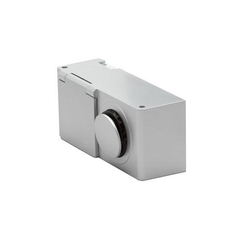 Wandcontactdoos Van Marcke Combibox Met Stopcontact En Schakelaar IP44 Grijs