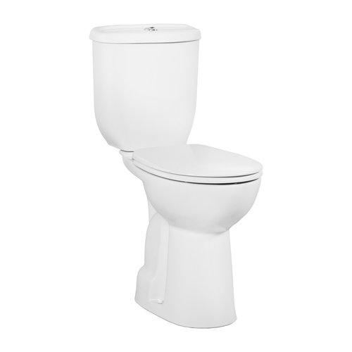Toiletpot Staand Boss & Wessing Mala Verhoogd Onder Aansluiting Wit