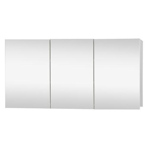 Spiegelkast Differnz Brida 50x100x15 cm Wit