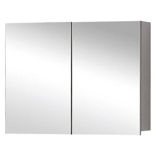 Spiegelkast Differnz Style 60x60cm Grijs Eiken