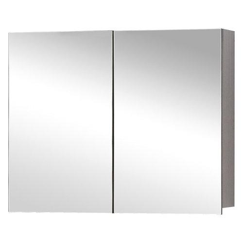 Spiegelkast Differnz Style 90x60cm Grijs Eiken