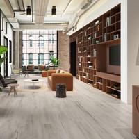 Vloertegel Timewood Grey 30x180 cm Sant'Agostino (doosinhoud 2.16m2)