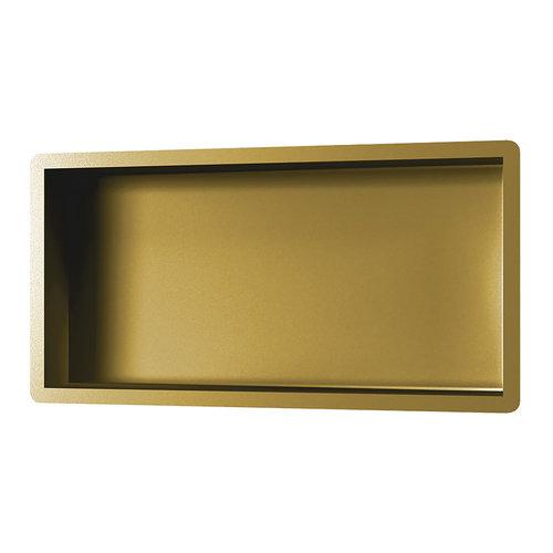 Inbouwnis Brauer Gold Edition 30x60 cm Geborsteld Goud