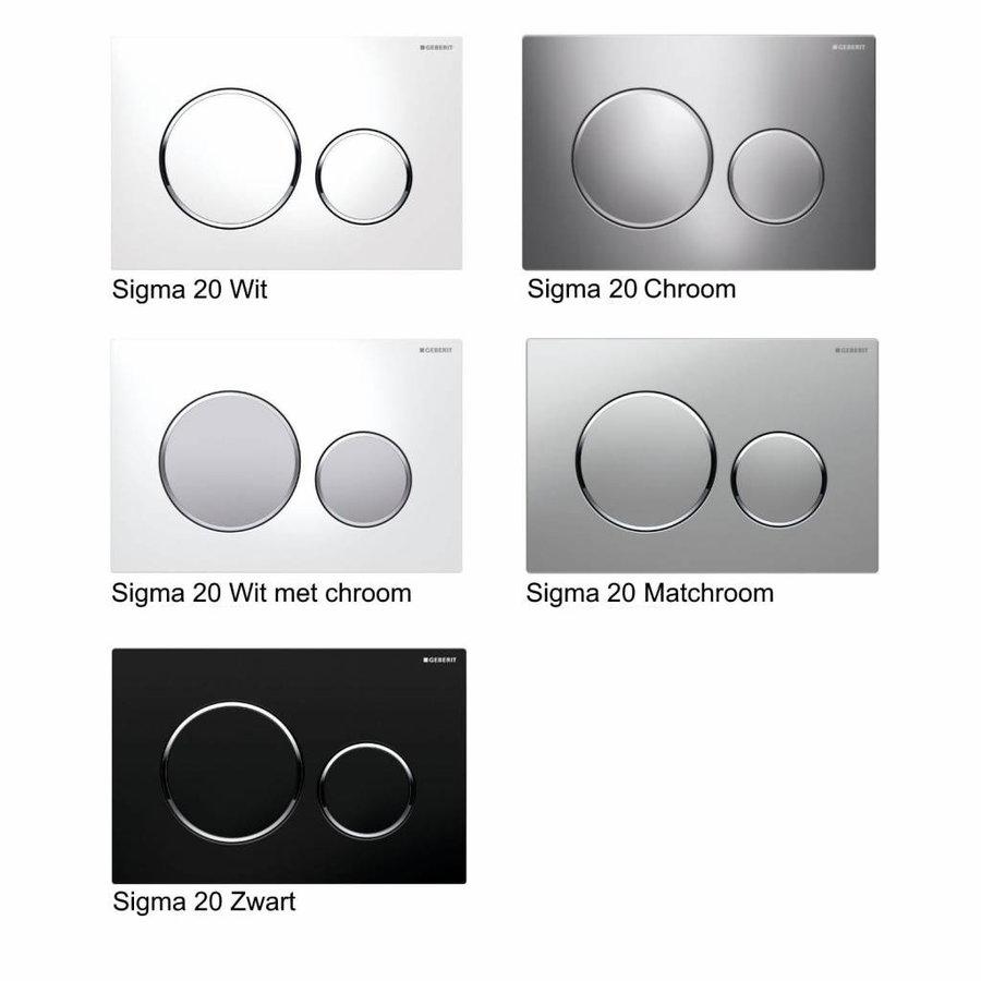 Up320 Toiletset 67 Geberit Econ Rimfree Met Zitting En Sigma Drukplaat