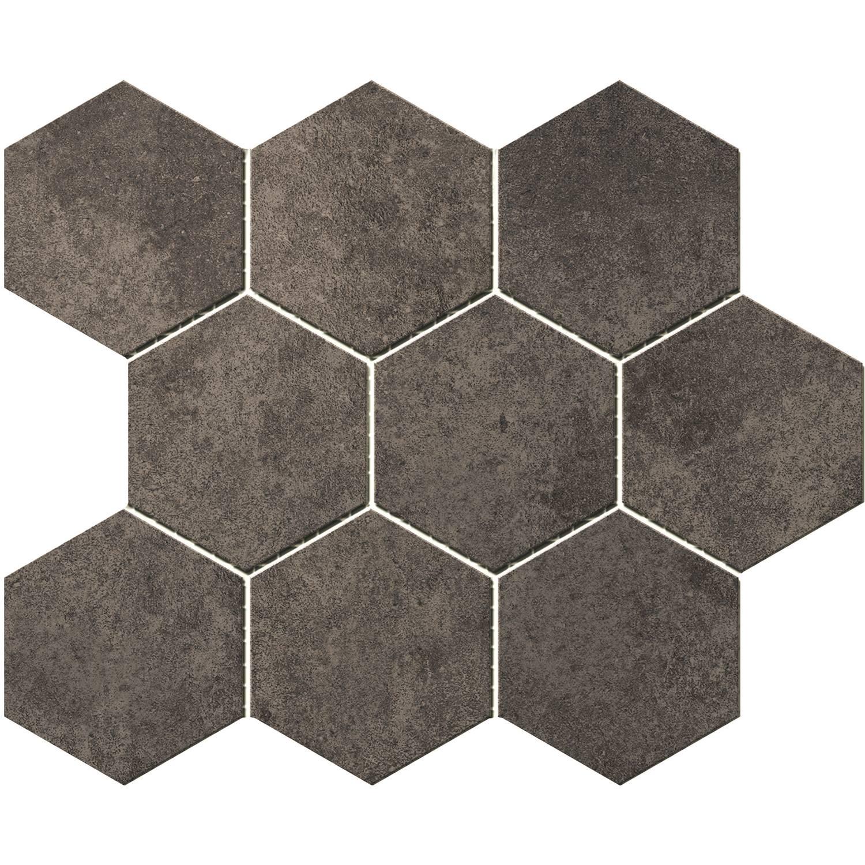 Hexagontegel Cristacer Umbria Grafito 35.5x29.2 cm Cristacer