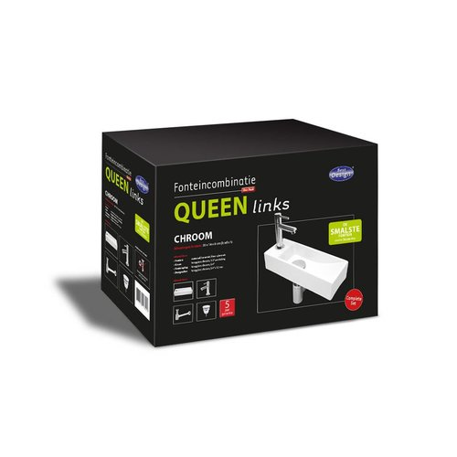One Pack Fonteincombinatie Queen Links