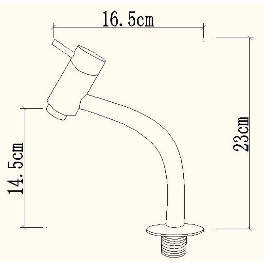 Toiletkraan Swing