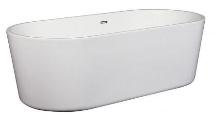 Vrijstaand Ligbad Blanca 180X80 Cm Wit