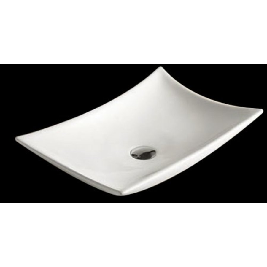Opbouw Wastafel Raaf 56X37X10,5 Cm Keramiek Wit