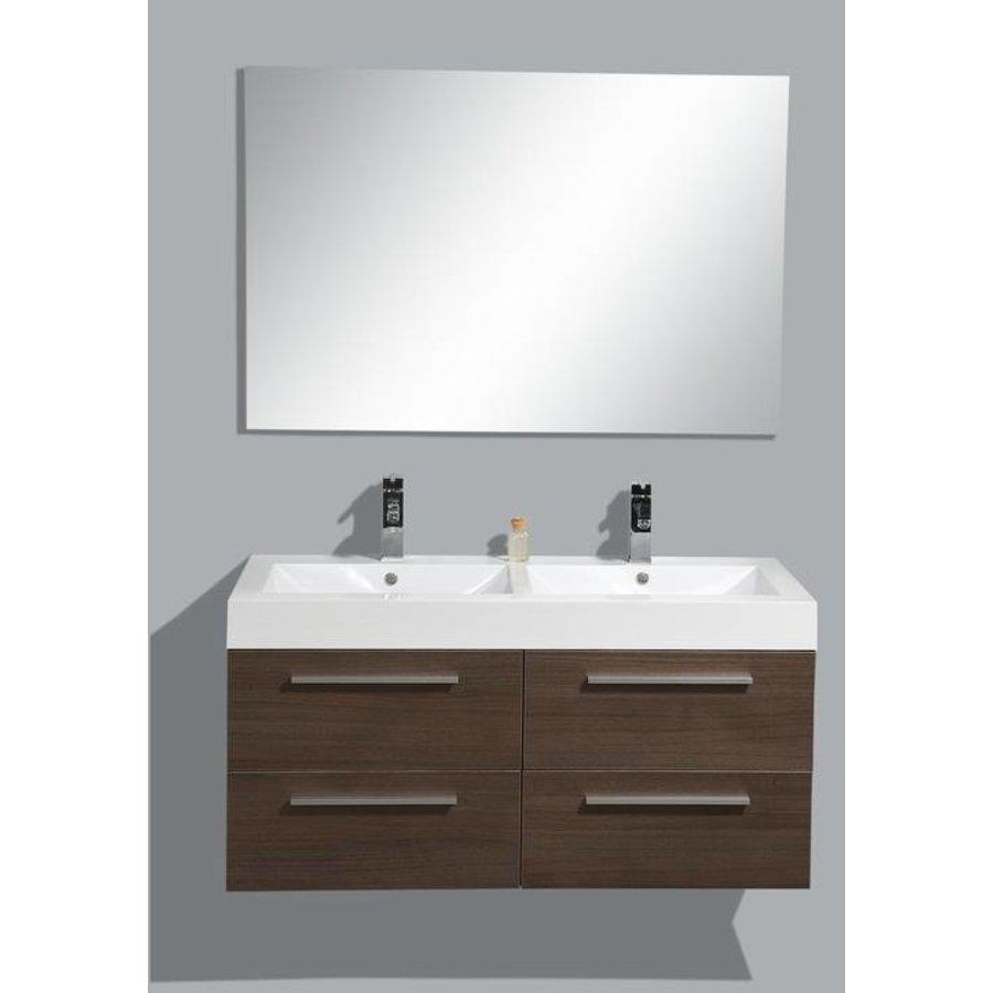 Badmeubel Vegas 120 Cm Grey Oak Met Spiegel