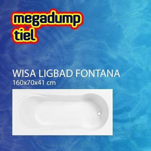 Ligbad Fontana Wit 160X70X41 Cm