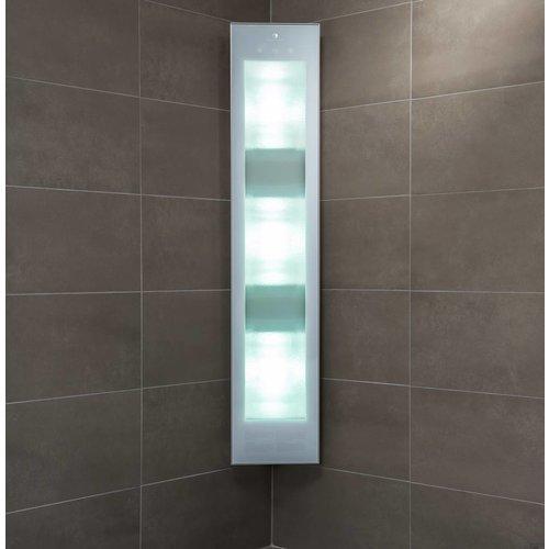 Combi White UV En Infrarood Opbouwapparaat 29X144X22.8 Cm Aluminium