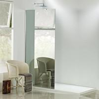 Spiegelglas Inloopdouche 90X200 Cm 8Mm Nano Glas