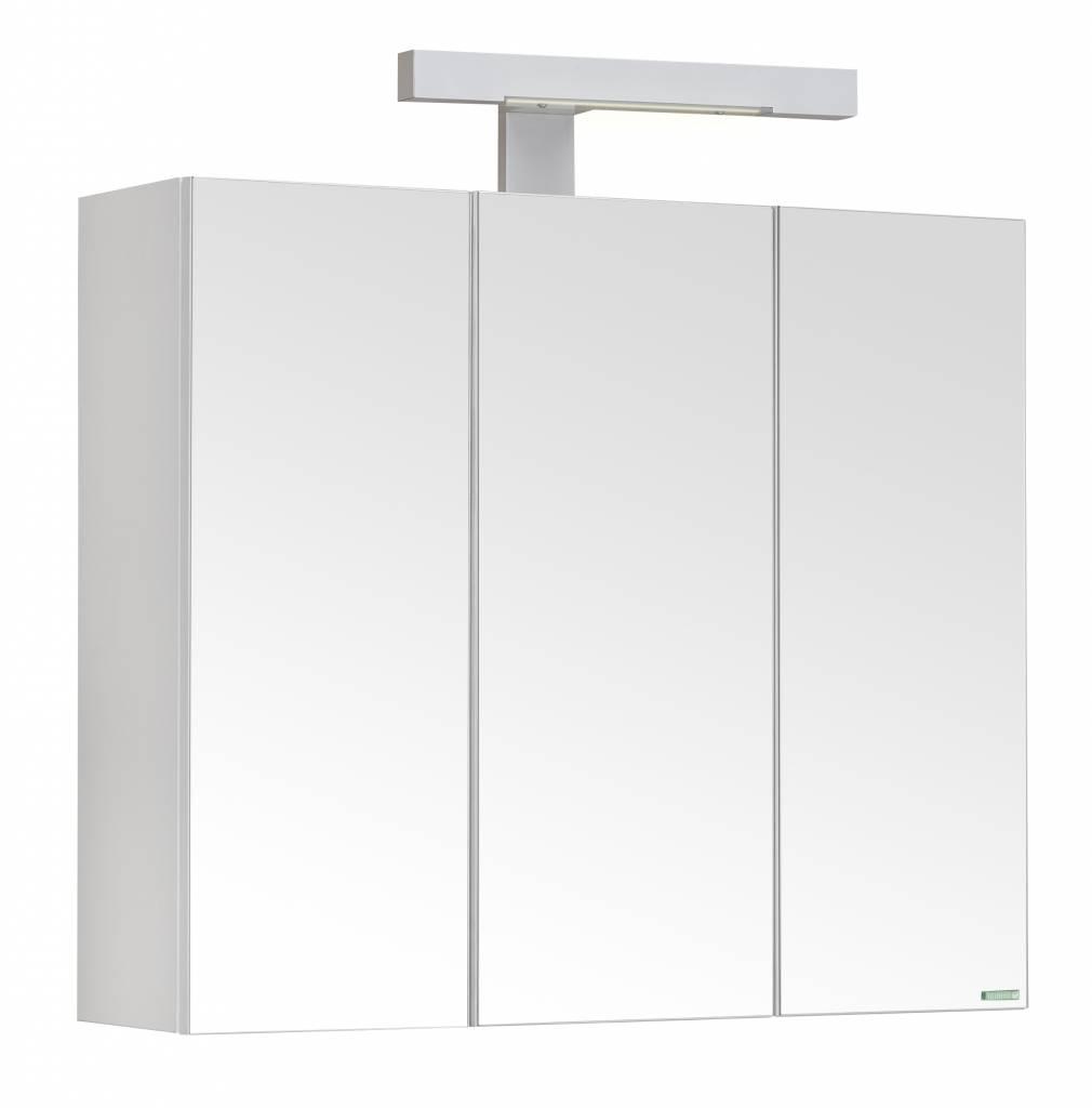 Spiegelkast Badkamer 60 Cm.Allibert Toiletkast Pian O 60x52x18 Cm Wit Spiegels Megadump Tiel