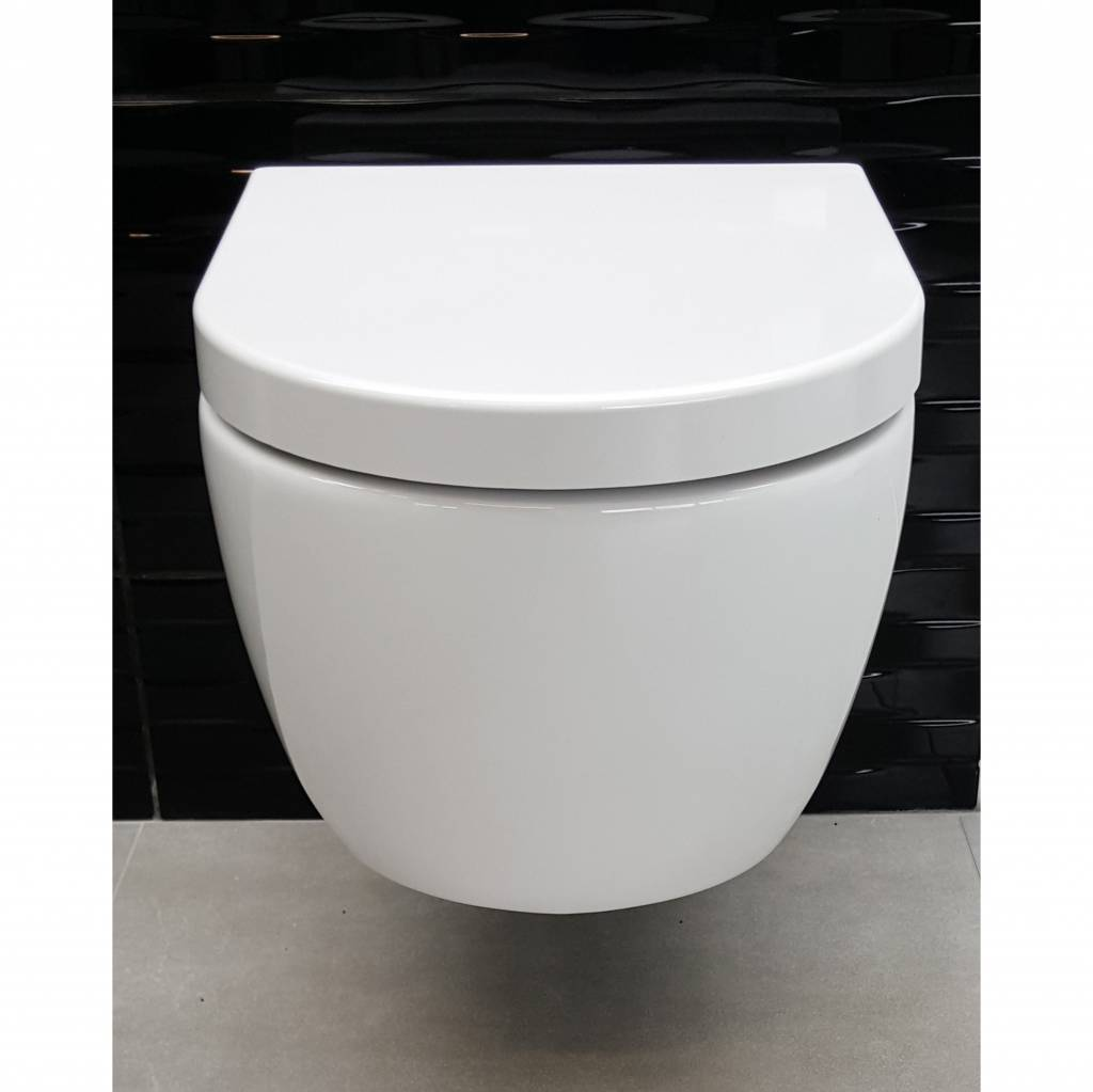 Incredible Aqua Royal Sani Sub Rimfree Wandcloset 54 Cm Met Softclose Bril Toiletten Pabps2019 Chair Design Images Pabps2019Com