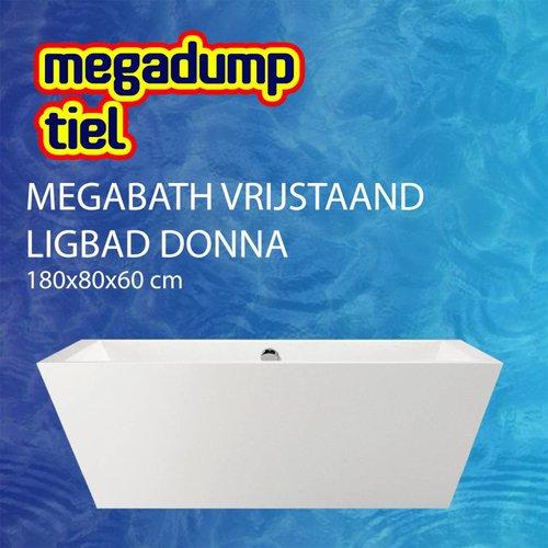 Vrijstaand Ligbad Donna 180X80X60 Cm